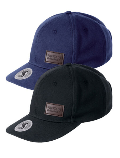 /new baseball cap 9255 FAS® COTTON in black and blue